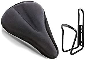 Lista Lista002 Bicycle Silicone Saddle Seat and Cycling Cushion Pad Bike Gel Cover