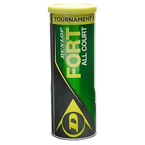 Dunlop Fort AC3Balles de tennis de Sport Équipement Outil Accessoire