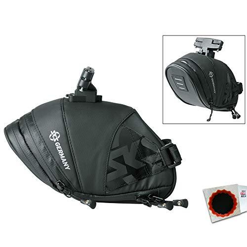 SKS Satteltasche Explorer Click 1800 180+40x80x130+10mm 211g 1,8L sz + Flicken