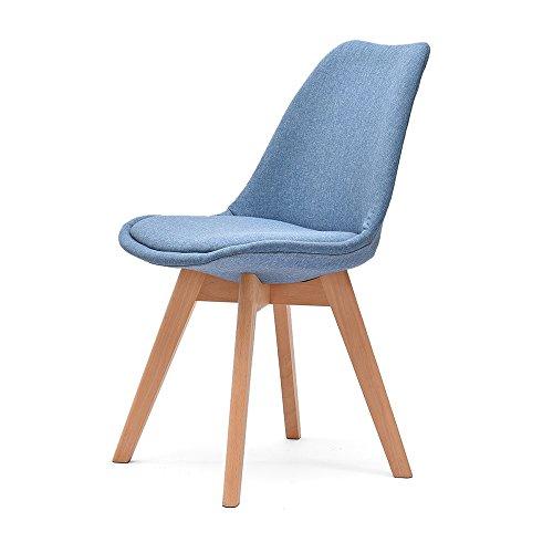 ZHILONG Cadre De Chaise En Bois Massif Tissu Chaise De Dossier Créatif Chaise D'intérieur (Couleur : A)