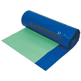 Acoustalay Foam Underlay with DPM 3mm 18m2 Green / Blue