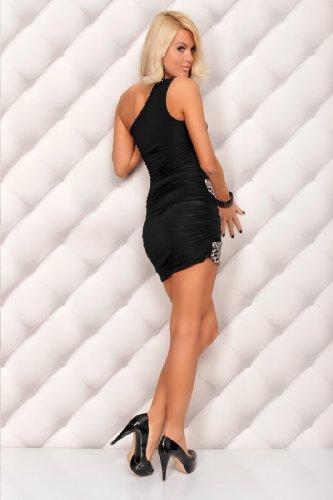 italy gownplanet - Robe - Femme noir noir/blanc 38 noir/blanc