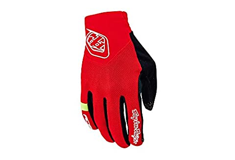 Troy Lee Gants de Ace Rouge rot - rot XXL