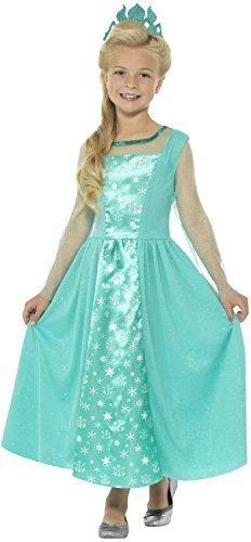 Kostüm Frost Prinzessin - Fancy Me Mädchen Frost Prinzessinnen Party Welttag des buches-Tage-Woche TV Film Halloween Kostüm Kleid Outfit 4-14 Jahre - 12-14 Years