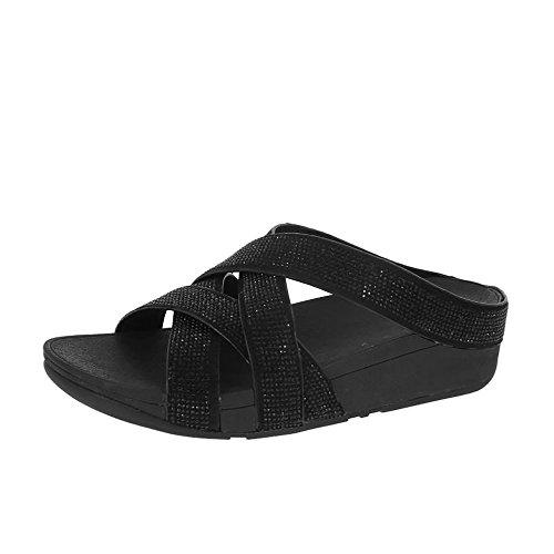 fitflop-fitflop-rokkit-furtivo-sandalias-de-criss-cross-slide-negro-uk5-todo-negro