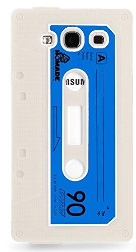 Horny Protectors 1961 Retro Kassette Silikon Schutzhülle für Samsung Galaxy S3 i9500 schwarz grau