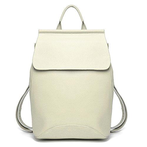 Mefly Borsa Tracolla In Pelle Fashion Outdoor Blu Di Viaggio Beige