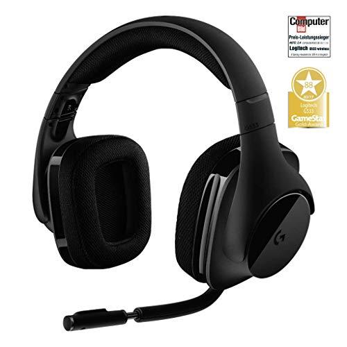 Logitech G533 Gaming Headset (kabelloser DTS 7.1 Surround Sound) schwarz