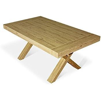 Fc654 Commerce ExtensibleEn Table Chêne Fashion De Bois xBCerdo