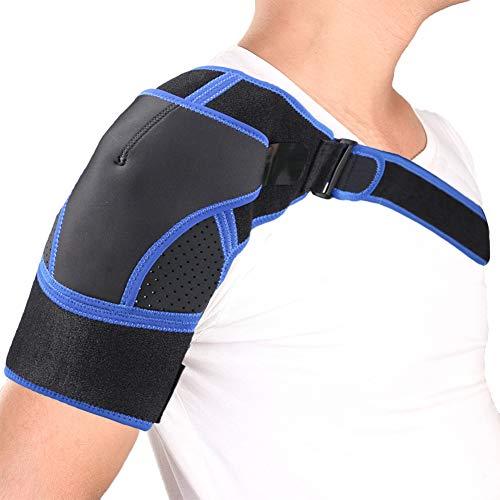 TZTED Gym Sports Single Schultergurt Brace Für Schmerzlinderung Rotatorenmanschette Schulterschmerzen Sportverletzungen -