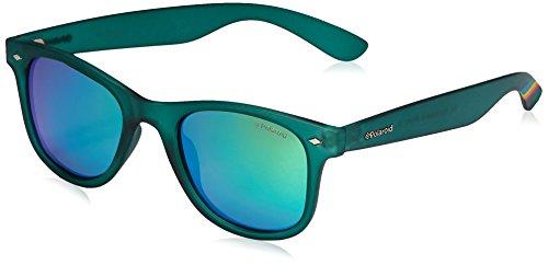 Polaroid Unisex-Erwachsene PLD 6009/N M K7 PVJ Sonnenbrille, Grün (Transparent Dark Green Grey Speckled Pz), 50