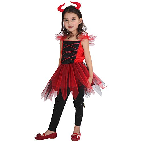 Junge Aus Up Kostüm - BUY-TO Halloween Kostüm für Kinder Jungen Teufel Kleidung Ghost Bat Vampire Kostüme Dree Up Erschreckend,M