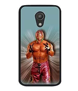 printtech WWE Ray Mysterio Back Case Cover for Motorola Moto G2 X1068 , Motorola Moto G (2nd Gen)