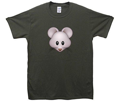 Mouse Emoji T-Shirt Khaki