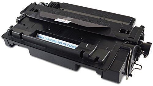 Bubprint Toner kompatibel für HP 55A CE255A für Laserjet Enterprise P3015 P3015D P3015DN P3015N P3015X Pro M520 Series M521DN M521DW Schwarz Black -