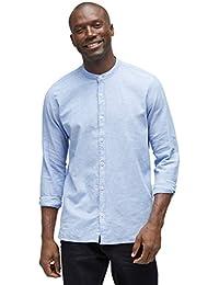 TOM TAILOR Herren Freizeithemd Ray Co Li Mao Shirt