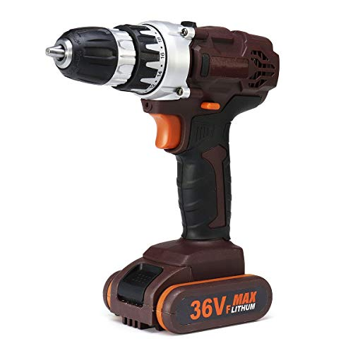 ExcLent 36V Rechargable Power Drills Cordless Lithium