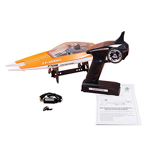 Original RC Barco 2.4G 30 km / h Alta velocidad impermeable ABS...