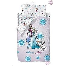 Disney Frozen Strong Heart Saco Nórdico de 2 Piezas para Cama de 90, ...