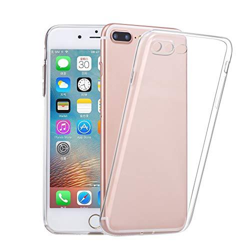 Coque iPhone 8 plus/iPhone7 Plus Case Anti-Scratch Case Cover (Transparent)