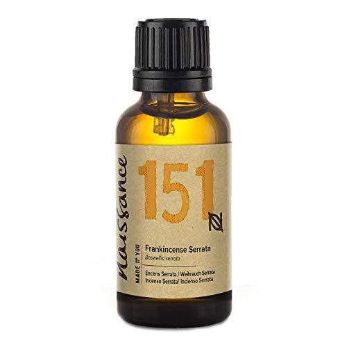 Naissance Weihrauch, Indisch (Boswellia Serrata) 30ml 100% naturreines ätherisches Öl (Basilikum Weihrauch)