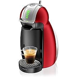 Krups Dolce Gusto - KP1605 - Cafetière à capsules, 1500 watts, Noir/Rouge