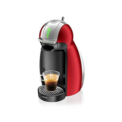 Krups KP 1605 Nescafé Dolce Gusto Genio Kaffeekapselmaschine (automatisch) rot metallisch