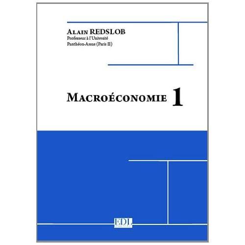 Macroéconomie 1
