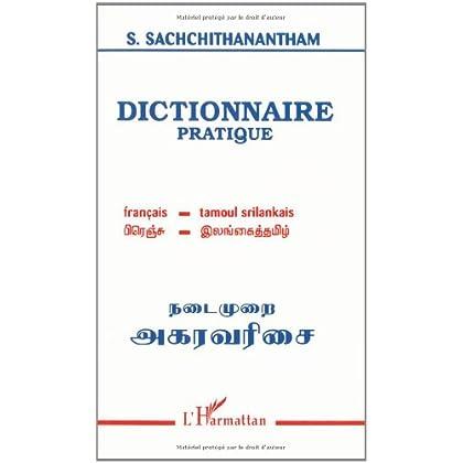 Dictionnaire pratique français-tamoul-srilankais