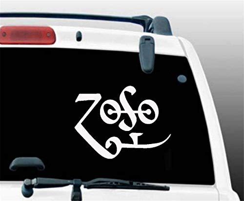 adesivo per auto adesivo per auto Tablet Zoso Symbol Jdm Funny Vinyl Decal Sticker Window Bumper Laptop 12.7Cm