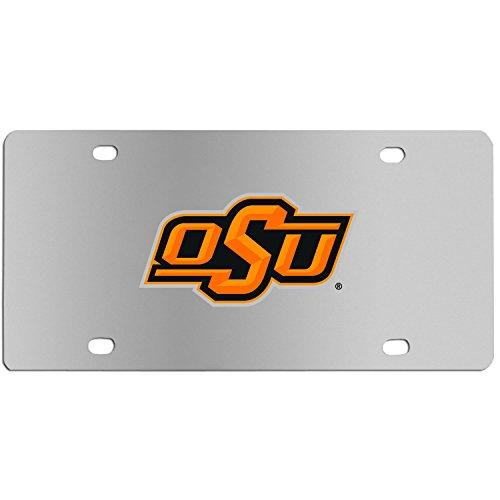 Siskiyou NCAA Oklahoma State Cowboys Steel License Plate with Digital Graphics