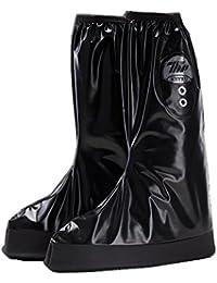 COTOP Couvre-chaussures Antidérapant semelles épaisse Vélo Moto Guêtre Botte Pluie Imperméable