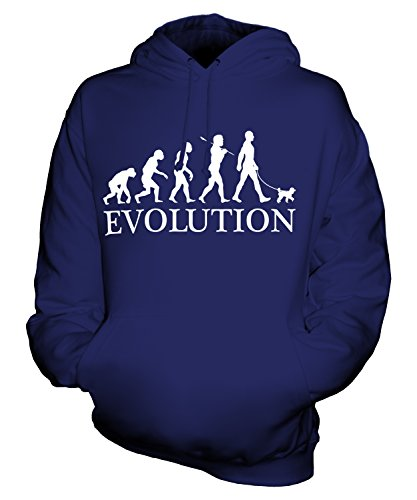 Candymix - Toy Poodle Evolution Of Man - Unisex Hoodie Mens Ladies Hooded Sweater