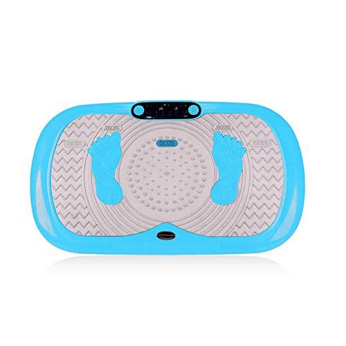 DOSNVG Fitness Vibration Platform, Vibrationstrainer, Bluetooth-Musiklautsprecher, Oszillierende Platten, Schütteln des Ganzen Körpers, D