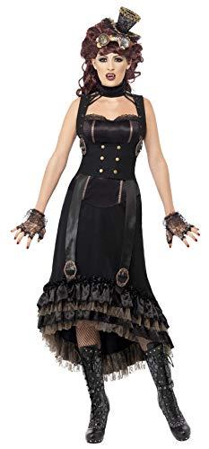 SMIFFYS Costume Carnevale Halloween Vampira Steampunk vampiro dracula - sexy donna