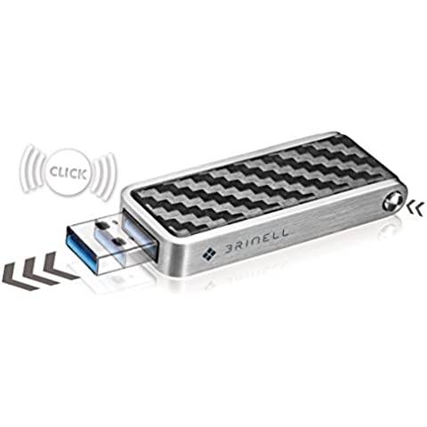 Brinell–Penna-Action chiavetta USB 3.0–Red dot Award 2013 nero carbone 240 GB