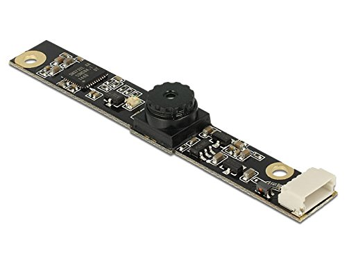 DeLock 96372Webcam-Komponente Notebook zusätzliche–Notebook Komponenten zusätzliche (Webcam, Schwarz)