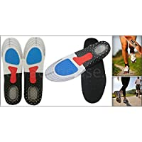 Walgreen® Unisex Pair of Orthotic Arch Support Insoles Sport Flat Feet High Arch Feet Gel