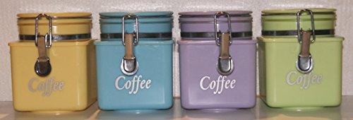 Air Tight Kaffee Ölkanister–verschiedene Pastellfarben