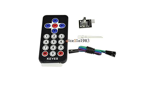 Black//White HX1838 VS1838 NEC Infrared IR Wireless Remote Control Sensor Module