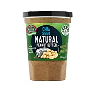 Mother Earth Peanut Butter Chia Seed Natural - 380g