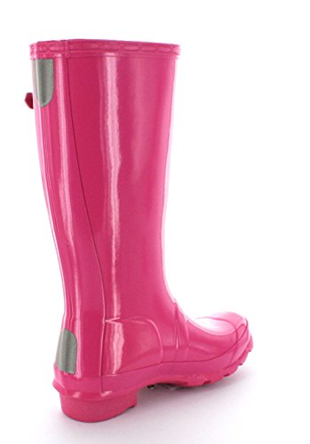 Hunter  Hunter Original Gloss, Bottes Unisexe enfant pink