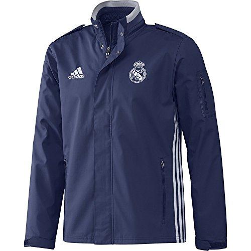 adidas Real Trav JKT Jacke Real Madrid FC für Herren, Rosa (Mornat/Balcri), M