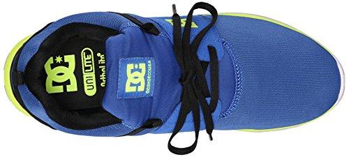 DC Heathrow da Uomo Casual Skate Shoe Blue/black/yellow