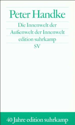 Die Innenwelt der Außenwelt der Innenwelt (edition suhrkamp)