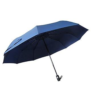Uarter Stabiler Schirm mit voll-automatischer Auf-Zu-Automatik, schwarz