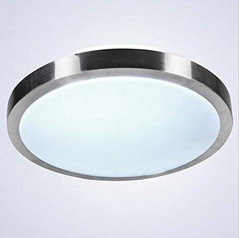 Jingzou Moderne lampe simple circulaire led plafond cuisine restaurant lampe de bureau balcon couloir Lampes 35CM