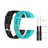 Sports Watch Band Strap for Garmin Vivosmart HR+, Meiruo Bracelet Wristband for Garmin Vivosmart HR PLUS (Colour 6)