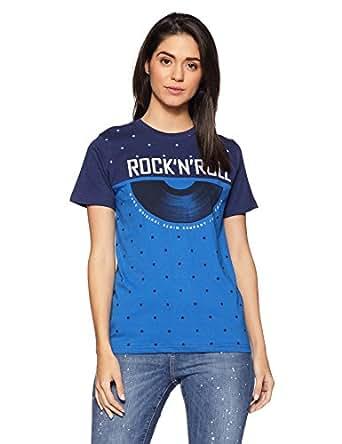 DJ&C Men's Plain Regular Fit T-Shirt (1000719595_Navy Blue_X-Small)
