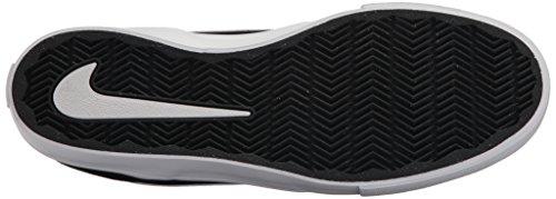 Nike Herren SB Portmore II Solar Mid Skateboardschuhe Schwarz (Blackwhite 011)